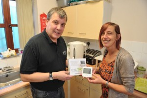 First energy monitor being installed at Craven Lea Community House