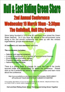 Green Share Poster 2014