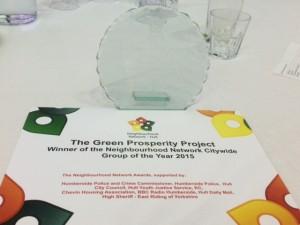 Green Prosperity City Winner NNA 2015
