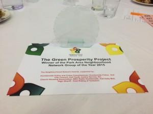 Green Prosperity Park Winner NNA 2015